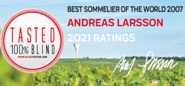 Tasting of our wines by ANDREAS LARSSON